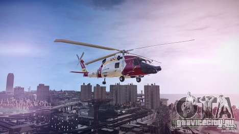 HH-60J Jayhawk для GTA 4 вид слева