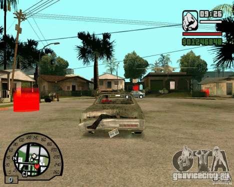 Plymouth Fury III для GTA San Andreas вид сзади слева