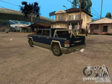 HD Columb для GTA San Andreas вид слева