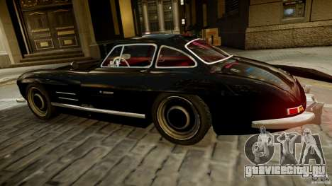 Mercedes-Benz 300 SL Gullwing для GTA 4 вид слева