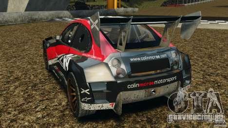 Colin McRae R4 Rallycross для GTA 4 вид сзади слева