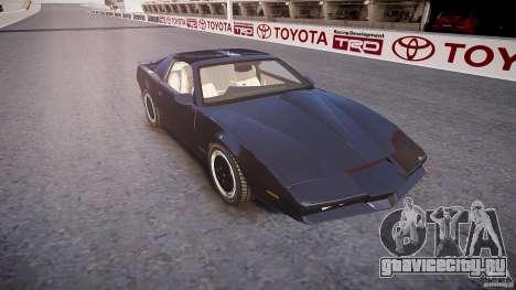 Knight Rider [EPM] для GTA 4 вид изнутри