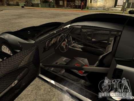 Chevrolet Corvette C6.R для GTA San Andreas вид сзади слева
