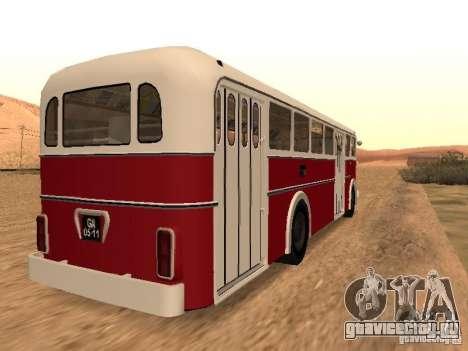 Ikarus 60 для GTA San Andreas вид сзади слева