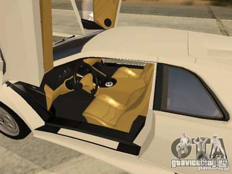 Lamborghini Diablo VT 1995 V2.0 для GTA San Andreas вид сверху