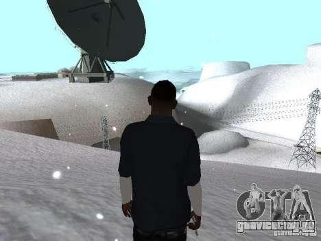 Snow MOD 2012-2013 для GTA San Andreas четвёртый скриншот
