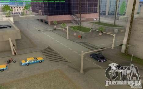 Бетонные дороги Лос-Сантос Beta для GTA San Andreas восьмой скриншот