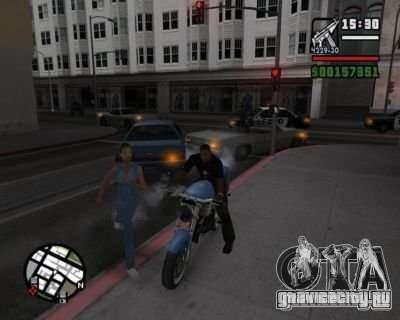 Turn Indicators 2.0 для GTA San Andreas