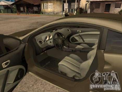 Mitsubishi Eclipse для GTA San Andreas вид сзади