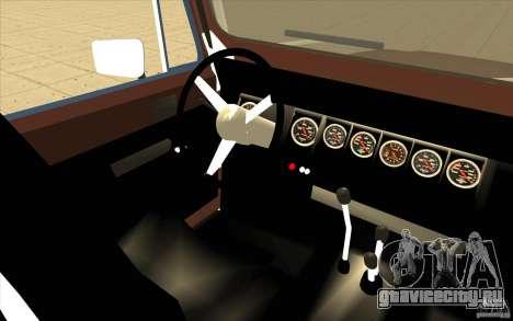 Jeep Wrangler 1986(2) для GTA San Andreas вид сзади