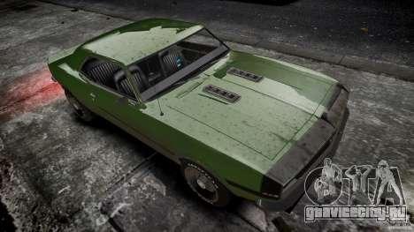 Chevrolet Camaro RS/SS 396 1968 для GTA 4 вид изнутри