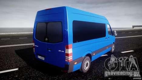Mercedes-Benz ASM Sprinter Ambulance для GTA 4 вид сверху