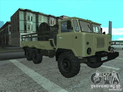 ГАЗ 34 для GTA San Andreas вид слева