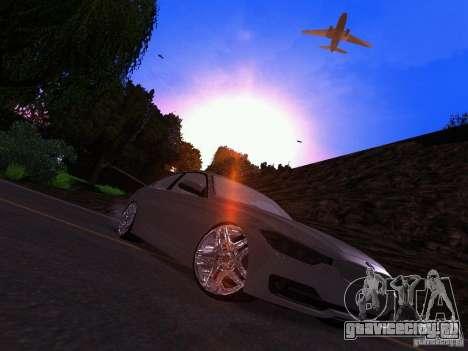 BMW 335i F30 Coupe для GTA San Andreas вид справа