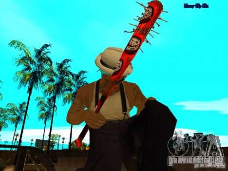 Trollface weapons pack для GTA San Andreas пятый скриншот