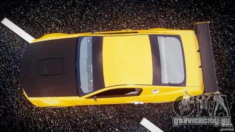 Ford Mustang GT-R для GTA 4 вид сзади