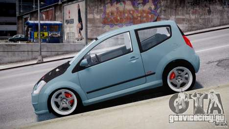 Citroen C2 Light Tuning [Beta] для GTA 4 вид изнутри