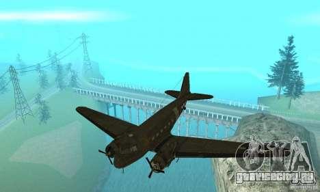 C-47 Skytrain для GTA San Andreas