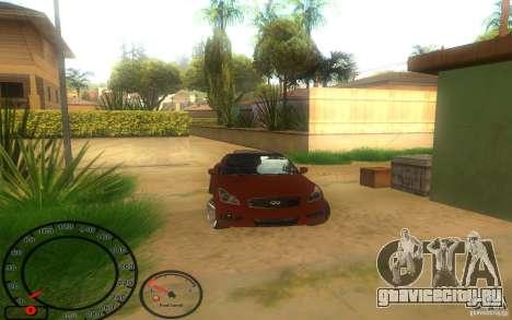 Infiniti G37 Vossen для GTA San Andreas