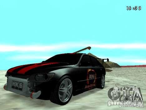 Toyota Altezza NKS Drift для GTA San Andreas