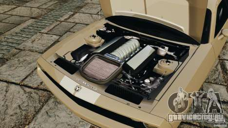 Dodge Challenger Concept 2006 для GTA 4 вид изнутри