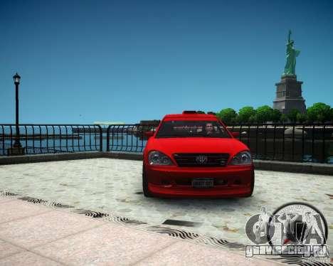 Schafter RS для GTA 4 вид сзади