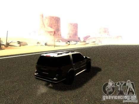 Ford Expedition 2008 для GTA San Andreas вид слева