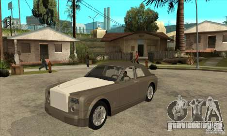 Rolls Royce Coupe 2009 для GTA San Andreas