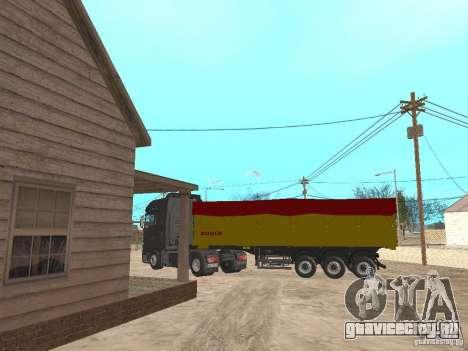 Прицеп BODEX для GTA San Andreas вид сзади слева