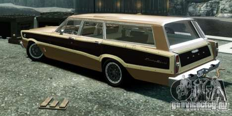 Ford Country Squire для GTA 4 вид слева