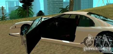 New Turismo для GTA San Andreas вид справа
