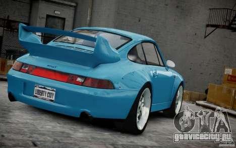 Porsche 911(993) GT2 1995 для GTA 4 вид сверху