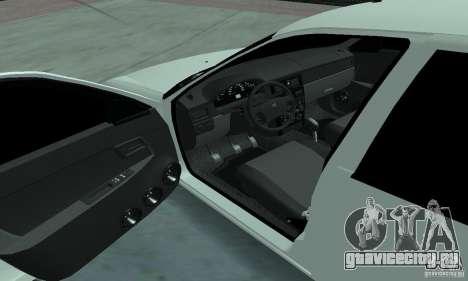 Lada Priora Low для GTA San Andreas вид сзади
