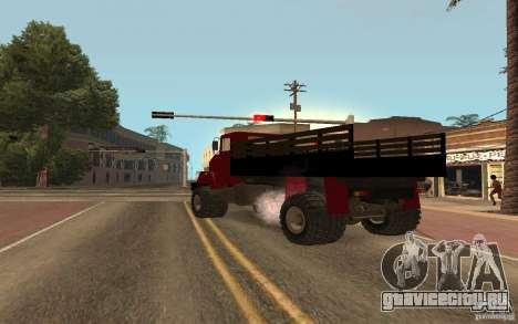 КрАЗ 5131 для GTA San Andreas вид сзади слева
