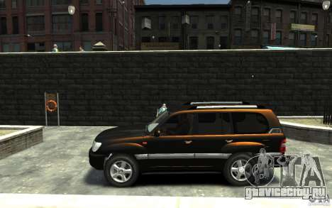 LEXUS LX 470 для GTA 4 вид слева