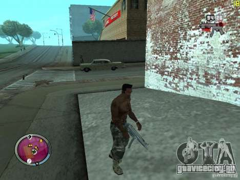 Новые ГАНГСТЕРСКИЕ зоны для GTA San Andreas шестой скриншот
