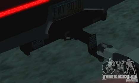 Трейлер к Chevrolet Silverado 2012 для GTA San Andreas вид справа