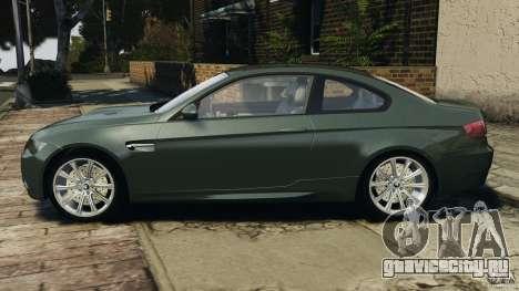 BMW M3 E92 2007 v1.0 [Beta] для GTA 4 вид слева