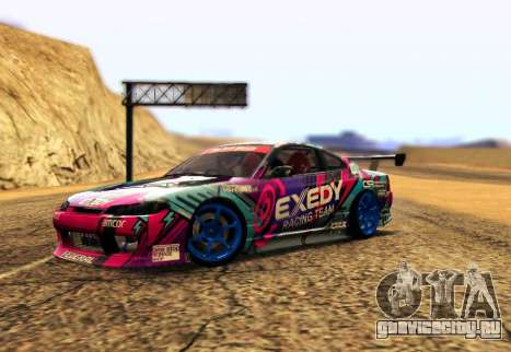Nissan Silvia S15 EXEDY RACING TEAM для GTA San Andreas