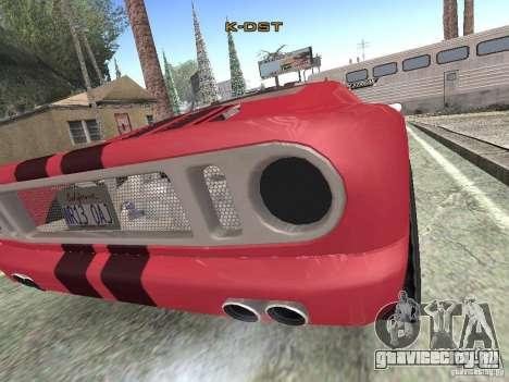 Bullet HQ для GTA San Andreas вид сзади слева