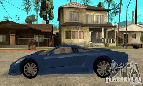 Saleen S7 v1.0 для GTA San Andreas вид слева
