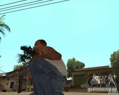 UMP-45 с прицелом ACOG-54 для GTA San Andreas второй скриншот