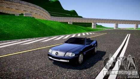 Mercedes SL 500 AMG 1995 для GTA 4