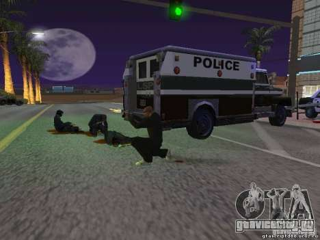 Ранить выстрелом для GTA San Andreas третий скриншот