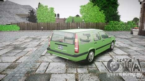 Volvo 850 Turbo 1996 для GTA 4 вид сверху