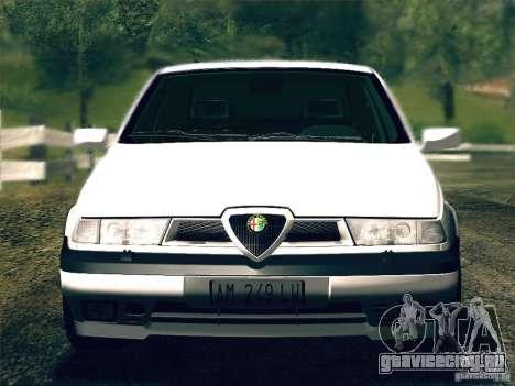 Alfa Romeo 155 1992 для GTA San Andreas вид сзади
