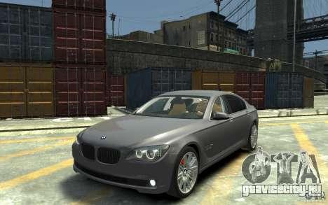BMW ActiveHybrid 7 2010 для GTA 4