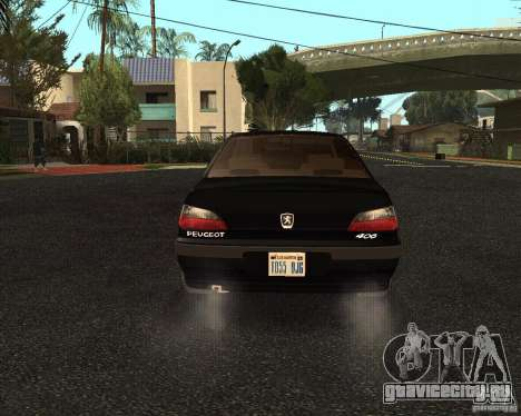 Peugeot 406 для GTA San Andreas вид справа