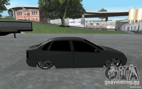 ВАЗ Калина для GTA San Andreas вид слева