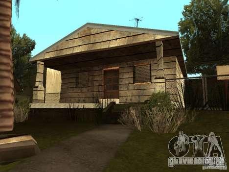 Ретекстур домов на Groove Street для GTA San Andreas пятый скриншот
